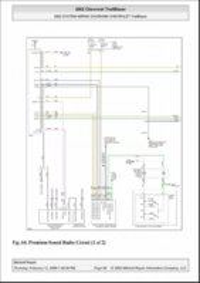 03 Trailblazer Bose System Wire Diagram Please Help Gmtnation