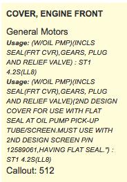SCREEN 12589061 General Motors